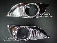 CHROME FOG SPOT LIGHT LAMP COVER FOR NEW MAZDA BT-50 PRO 2012 PICK UP