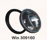 Copri Volante auto universale Urban nero con inserti argento glitter Dm 37//40