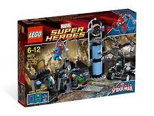 Lego 6873 - Spider Man's Doc Ock Ambush- New In box Sealed w/  Mini Figures