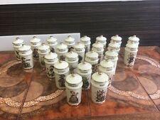Complete set [24] M.J. Hummel Little Companions Spice Jars