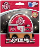 MasterPieces NCAA Unisex NCAA Real Wood Toy Train