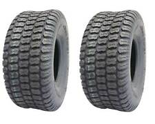 Set of 2, Deli 15x6.00-6, Turf Master Tread, 4 Ply, Tubeless, Lawn mower tires