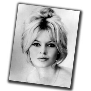 Brigitte Bardot Celebrities Retro Rare Photo Glossy Big Size 8X10in ε013