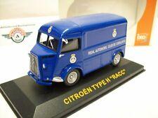 """Citroen h """"Reial automóvil club de catallunya"""" 1962, Blue, Ixo 1:43"""