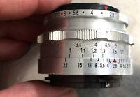 EXA Tessar 2,8/50mm Carl Zeiss JENA EXA /Exakta - Classic-Camera-Store DRESDEN