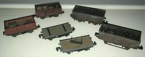 N Gauge Wagons Peco & Dapol Coal and Crate Loads Professionally Weathered