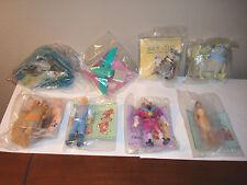 NIP Pocahontas 8 pc.complete set Toy Burger King Disney1995 Fast food caketopper