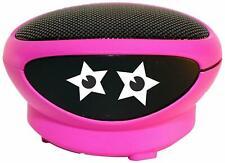 Pink View Quest Ninja Portable Loud Speaker 3.5mm Input – iPhones, iPad, Android