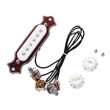 New Sound Hole Magnetic Pickup for Folk Acoustic Electric Guitar Guitar Part Red