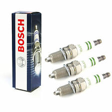 3x Bosch Super Spark Plugs Genuine Engine Ignition Service Part Set/Kit
