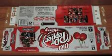 2012 DIET DR PEPPER CHERRY LE MARVEL AVENGERS EMPTY 12-PACK CAN CARTON/CASE