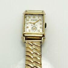 Vintage Gruen Curvex 17J Gold Filled Watch (9000)