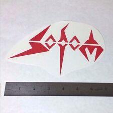 SODOM Vinyl DECAL STICKER BLK/WHT/RED Thrash Metal BAND Logo Window Guitar LP