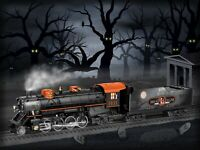 Lionel 6-83606 HALLOWEEN LIONCHIEF PLUS MIKADO Steam Locomotive Engine Train