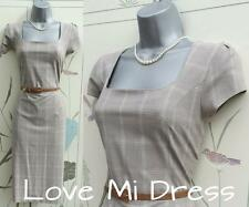 NEXT - 40's Style Secretary Pencil Wiggle Dress Sz 14 EU42