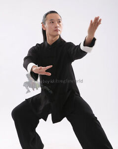 25 Colors Tai Chi Suit Kung fu Wing Chun Uniform Martial arts Wudang Clothes