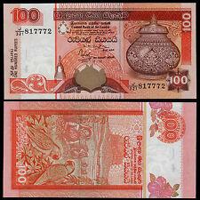 SRI LANKA 100 RUPEES (P118a) 2001 UNC