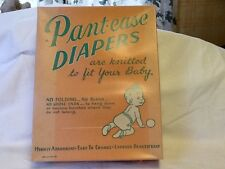 Vintage Rare PANT-EASE Cloth Diapers 1 Dozen