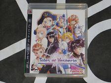 Playstation 3 PS3 Import Game Tales Of Vesperia Japanese Language RPG Namco