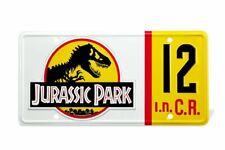 Jurassic Park Replik 1/1 Dennis Nedry Nummernschild - Doctor Collector