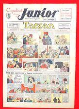 Coquelicot journal du JUNIOR n°12. 17 avril 1947. SPE. Pellos, Tarzan...Bel état