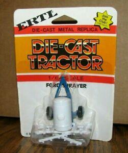*FORD Pull Behind Sprayer 1/64 ERTL Toy #886 Die Cast Metal Implement White Blue