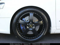 "4X GENUINE SIMMONS COMMODORE 20"" FR-1 VF VE STAGGERED WHEELS TYRE REDLINE HOLDEN"