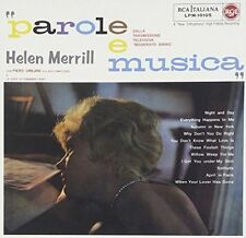 Parole E Musica 8018344021539 by Helen Merrill CD