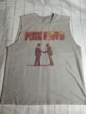 PINK FLOYD T SHIRT 2000 WISH YOU WERE HERE BURNING MAN cut off gray