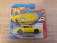 2020 Hot Wheels Hotwheels '96 Porsche Carrera 993 - 1:64 1/64 Series 2/10 Yellow