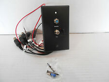 *RV SATELLITE/TV HOOKUP WITH CONNECTORS MODEL CWP-1000-B