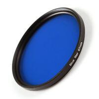 52mm Full Blue Color Conversion Lens Filter for Canon Nikon Sony DSLR Camera M52
