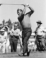 Professional Golfer ARNOLD PALMER Glossy 8x10 Photo Golf Swing Print Poster
