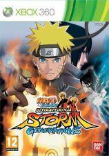 Xbox 360 Game Naruto Shippuden: Ultimate Ninja Storm Generations New
