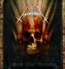 Thunderbolt - Inhuman Ritual Massmurder CD 2004 black meal Poland Agonia