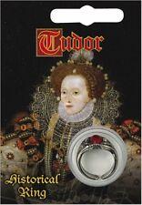 Elizabeth I Gem Ring - Pewter