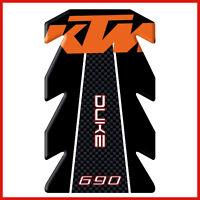 paraserbatoio adesivo per moto KTM DUKE 690 tankpad 3d resinato protezione