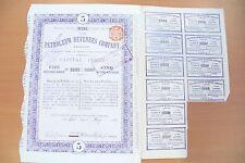 ACTION / EMPRUNT - FRANCE ET/OU ETRANGER - 1912 - BEL ETAT A COLLECTIONNER !!