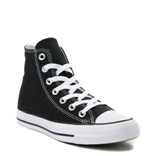 Converse All Star Hi Top WOMENS & MENS Canvas Trainers Shoes Black White