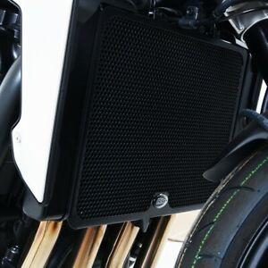 Honda CBR125R 2012 R/&G Racing Radiator Guard RAD0105BK Black