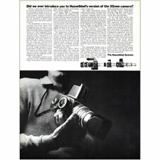 1967 Hasselblad: Version of the 35mm Camera Vintage Print Ad