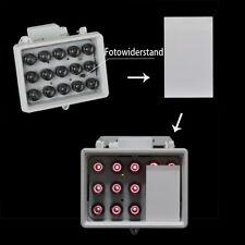 60° 230V LED IR Infrarot Scheinwerfer Nachtsicht f.CCTV IP65 ND7722