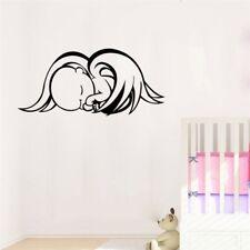 Baby Angel schlafend Engel Wandtattoo Wallpaper Wand Schmuck 13 x 28 cm Wandbild