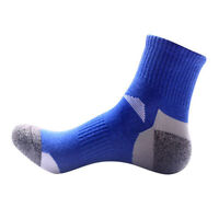 5 Pairs Men's Sports Crew Quarter Combed Soft Cotton Ankle Socks Casual Socks