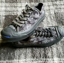 EUC Converse Jack Purcell Signature Monstera Tropical Sneakers Sz M 6/W 7.5