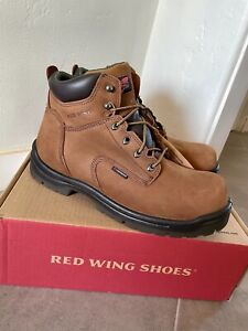 NEW Red Wing 2240 King Toe Size 12 H Wide Safety Toe Waterproof Boots