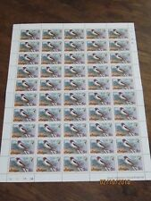 Antigua and Barbuda  Feuille de 50 timbres **  5 cents rufous throated solit1976