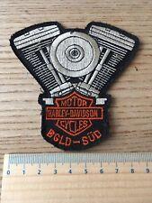 Aufnäher Patch Weste MC Kutte Harley Davidson HOG BGLD-Süd Chapter Panhead S&S