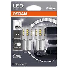 OSRAM LEDriving P21/5W 6000K Blanc Froid DEL Intérieur Voiture Ampoules (Twin Pack)