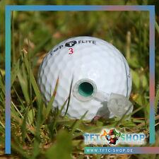 Golfball Nanoversteck mit Logstreifen, Geocaching, Versteck